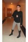 Calvin-klein-shirt-fnh-pants-prada-boots