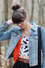 denim H&M jacket