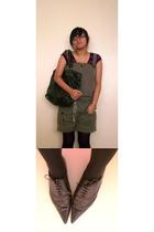 Pons Q love shoes shoes - romper shorts shorts - whoknows tights - Bag accessori