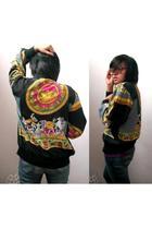 thrifted jacket - 1322 belt - Lee jeans