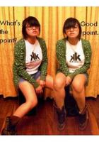 star print sweater - thrifted shorts - Kaingin shirt - Everlast boots - vintage