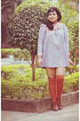 Periwinkle-vintage-dress