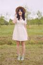 Seafoam-heels-seychelles-shoes-cotton-dress-forever-21-dress