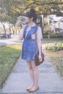 Denim-pinafore-forever-21-dress-brown-satchel-h-m-purse