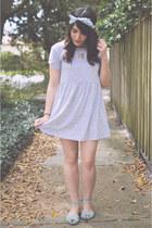 shirt dress Forever 21 dress - teal sandals Urban Outfitters sandals