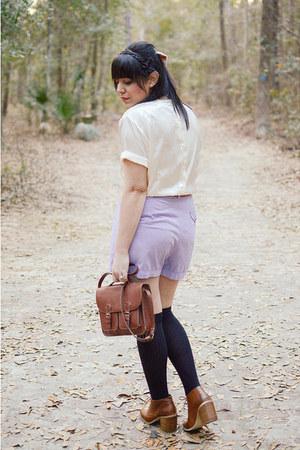 vintage shorts - vintage top