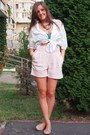 Mango-shirt-dkny-bag-zara-shorts-stradivarius-top-mango-necklace