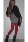 Xcvi-blazer-target-tights-clutch-vintage-bag-st-johns-bay-heels