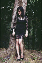 black lace Dolly Molly dress