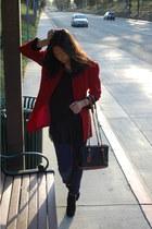 crimson tuxedo christian dior blazer - black wyatt Dolce Vita boots