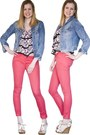 Blue-denim-heritage-81-jacket-forever-21-top-red-colored-denim-mossimo-pants
