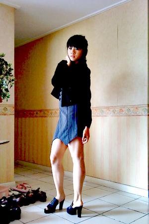 dress - blazer -