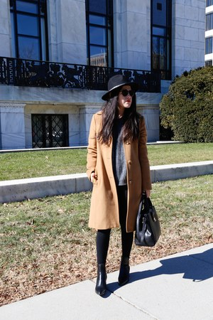 Zara boots - Zara hat - banana republic jacket - Zara sweater - Zara bag