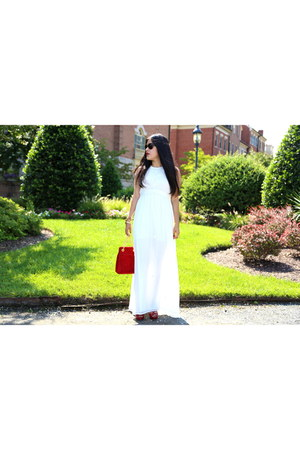Zara dress - vintage bag - Prada sandals