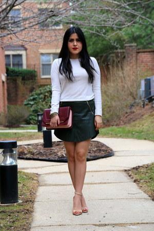 Zara bag - Zara skirt - Zara sandals - Aziz top