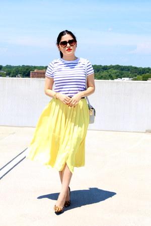 Zara top - H&M bag - Zara skirt - Toni Bianco heels