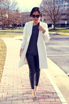 Zara coat - Zara pants - Zara top - Zara heels