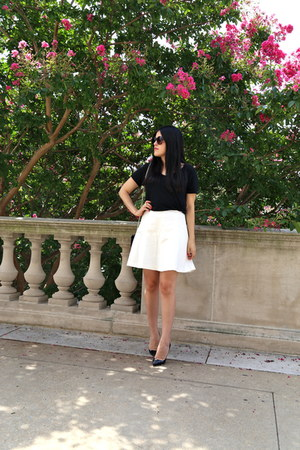 Zara top - Zara skirt - Christian Louboutin heels