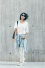 Light-blue-light-indigo-american-apparel-jeans-sky-blue-denim-vintage-shirt