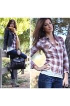 dark khaki lace up booties Dailylook boots - blue Dailylook jeans