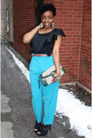 Guess bag - Charlotte Russe heels - H&M earrings