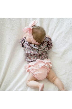 pink bloomers Daisy & Moose dress