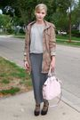 Green-212-jacket-gray-forever-21-sweater-gray-forever-21-skirt-pink-coach-