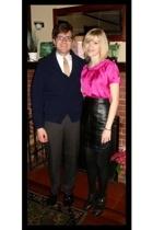victor alfaro blouse - vintage from Ebay skirt - Target tights - calvin klein sh