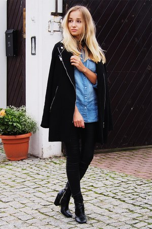black GAMISS coat