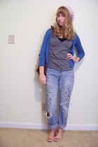 hollister sweater - abercrombie and fitch shirt - Urban Outfitters hat - Urban O