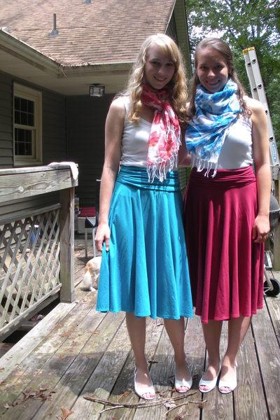 J Crew skirt - J Crew skirt - Bandolino shoes - hollister scarf - hollister scar