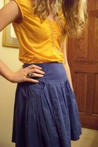 Anthropologie top - edme & esyllte skirt - banana republic necklace