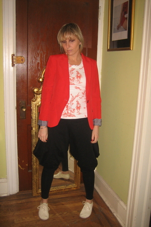 redtoenails shirt - BABOOSHKA pants