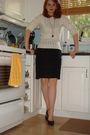 White-chic-swap-sweater-black-club-monaco-skirt-black-zara-shoes-etsy-neck