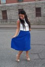 Midi-forever-21-skirt-le-chateau-top-chinese-laundry-pumps