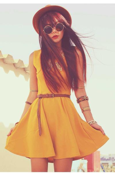 gold ELLYSAGECOM dress