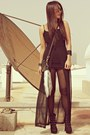 Black-studded-forever21-boots-black-secondhand-dress-black-studded-jaded-bag
