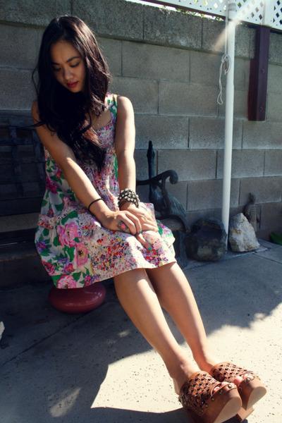 H&M dress - Jeffrey Campbell clogs