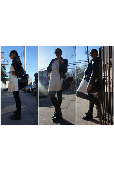 Express dress - boots boots - Forever21 jacket