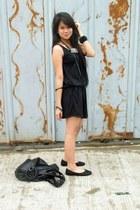 fab dress - Parisian bag - Primadonna flats - WAGW accessories