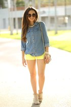 Neon and denim
