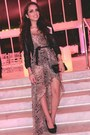 Heather-gray-snake-print-love-dress-black-h-m-jacket-black-aldo-bag