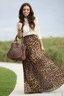 Brown-as-skirt-romwe-dress-dark-brown-mimi-boutique-bag