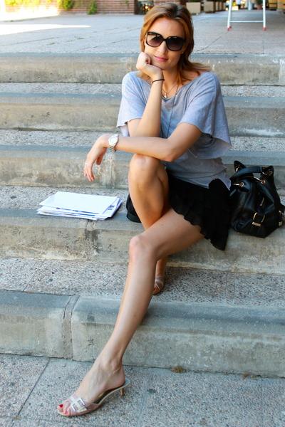 Zara t-shirt - Promod skirt