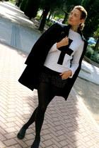 phard coat - Primark sweater - H&M shorts - Pretty Ballerinas flats
