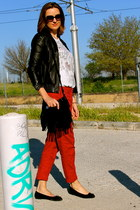 sita murt jacket - BLANCO bag - dior sunglasses - Primark pants - Zara t-shirt