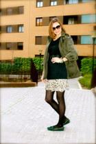 Dixie sweater - dior sunglasses - Giorgio Armani belt - Massimo Dutti flats