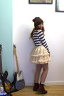 Crimson-dr-martens-boots-white-striped-sweater-peach-petticoat-american-appa