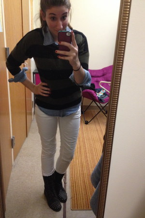 white skinny jeans Charlotte Russe pants