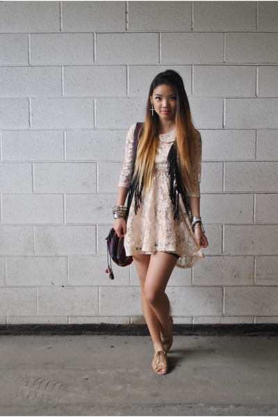 21 Dress Fringe H&m Vest
